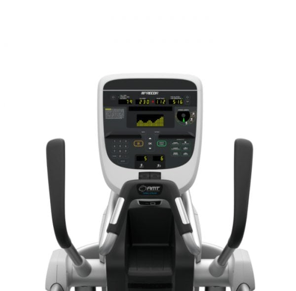 Precor Fitness AMT 835 Adaptive Motion Trainer with Open Stride Technology Silver Console