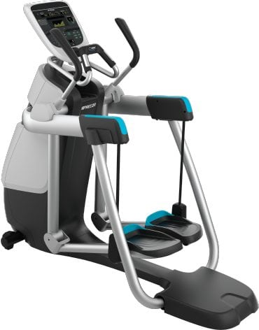 Precor Fitness AMT 835 Adaptive Motion Trainer with Open Stride Technology Silver