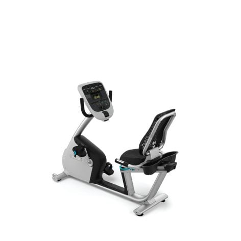 Precor Fitness RBK 835 Recumbent Bike Experience Series Silver