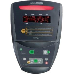 Octane Fitness Q47 Elliptical Trainer X Console
