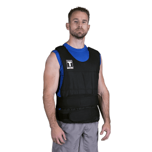 Body-Solid PREMIUM ADJUSTABLE WEIGHTED VEST, 40LBS