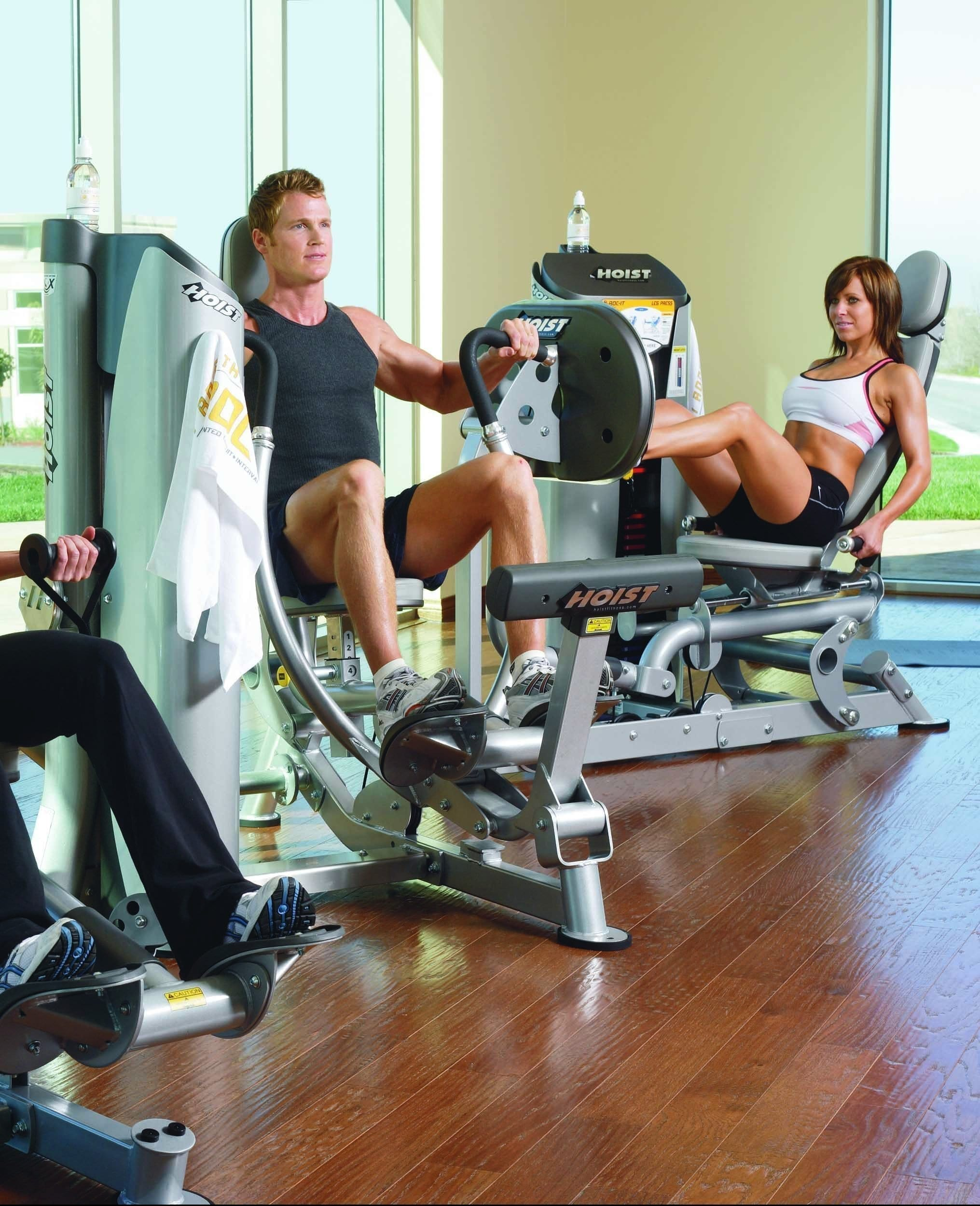 Hoist Fitness Group Machines