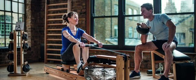 WaterRower Home Couple