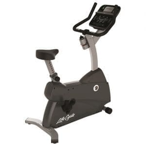 Life Fitness C1 Lifecycle Upright Exercise Bike
