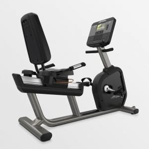 Life Fitness Club Series+ Lifecycle Recumbent Exercise Bike