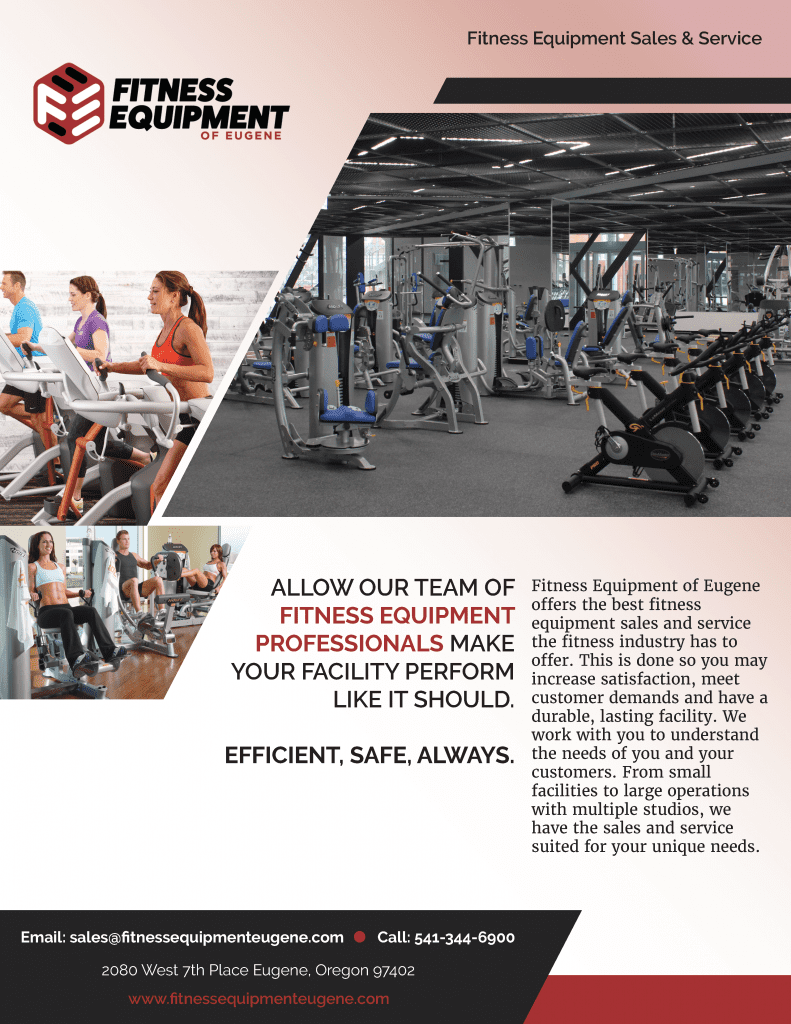 Facility Exercise Equipment Services Page 1