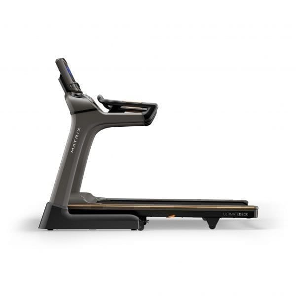 Matrix Fitness TF30 Folding Treadmill XR Side