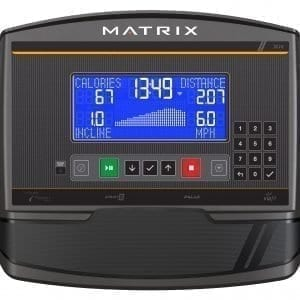 Matrix Fitness TF50 Folding Treadmill