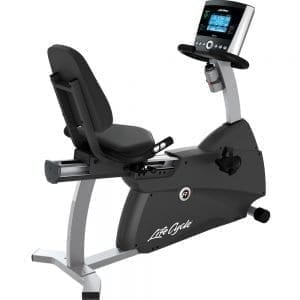 Life Fitness R1 Lifecycle Recumbent Exercise Bike