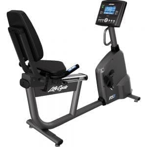 Life Fitness RS1 Lifecycle Recumbent Exercise Bike