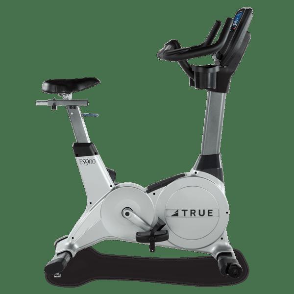 True Fitness ES900 Upright Bike Side
