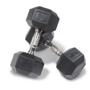 Hampton Fitness Urethane Dura-Bell Dumbbells